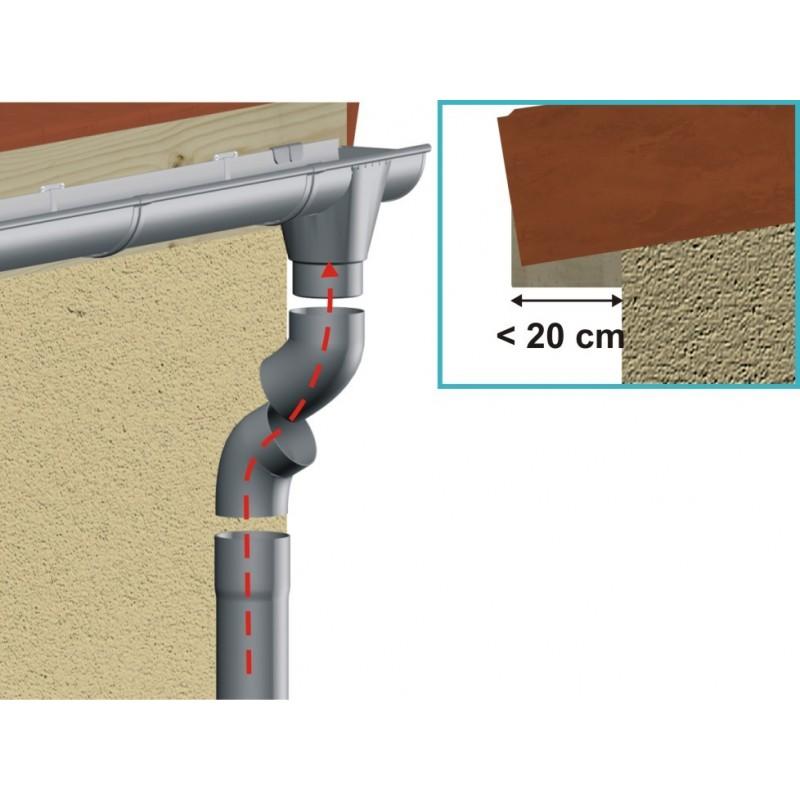 d voiement zinc diam tre 100 mm. Black Bedroom Furniture Sets. Home Design Ideas