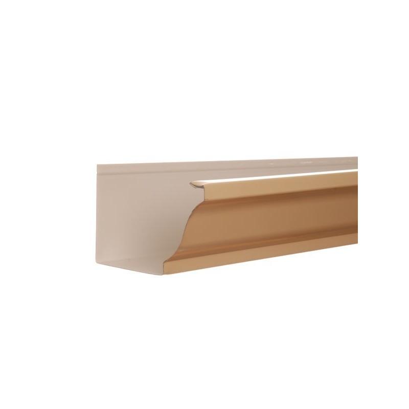 goutti re aluminium sable 3 m tres gouttiere online. Black Bedroom Furniture Sets. Home Design Ideas