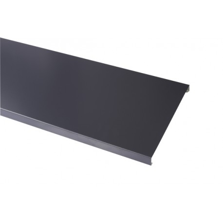 Couvertine aluminium gris anthracite 7016 1mm gouttiere for Pvc gris anthracite