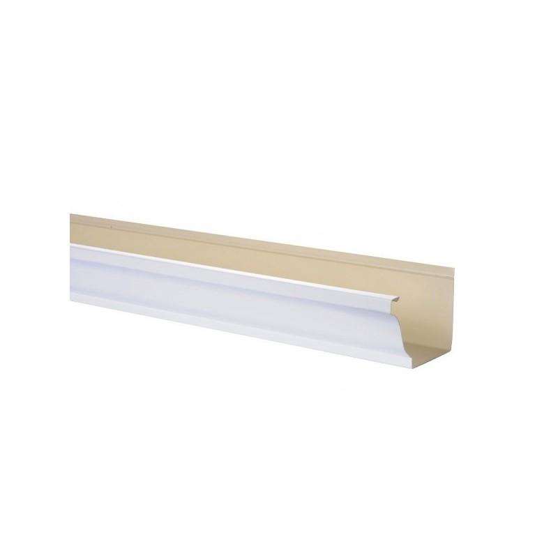 Goutti re aluminium blanc 4 m tres gouttiere online - Gouttiere pour balcon ...