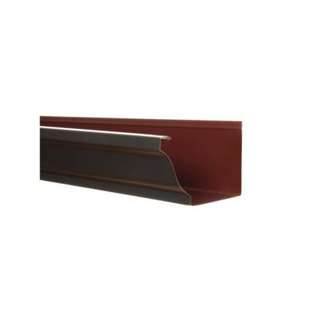 goutti re aluminium bleu ardoise 4 m tres. Black Bedroom Furniture Sets. Home Design Ideas