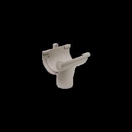 Naissance centrale PVC gris à coller 25