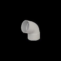 Coude PVC  67° M/F gris 80