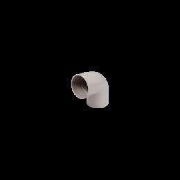 Coude PVC 87° M/F gris 80