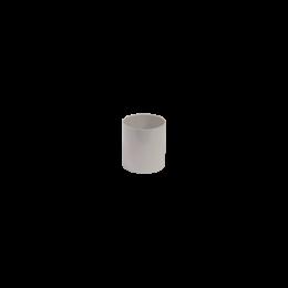 Manchon PVC  F/F gris 80