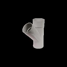 Culotte PVC 45° M/F gris 80