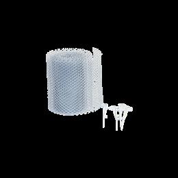 Filet gouttière universel PVC 16 et 25 pour Gouttière demi-ronde