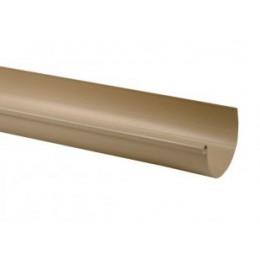 Gouttière demi-ronde PVC sable 25 - 2 mètres
