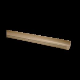 Gouttière demi-ronde PVC sable 25 - 4 mètres