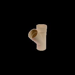 Culotte de branchement  45° M/F PVC sable 80