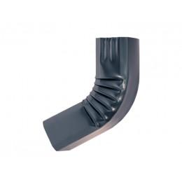 Coude frontal (1)  intérieur aluminium LISSE Gris ardoise