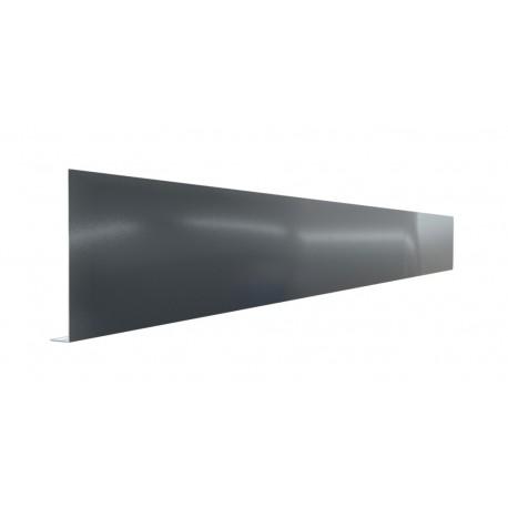 Pliage Aluminium en L gris anthracite RAL 7016 1 mm - 2 mètres