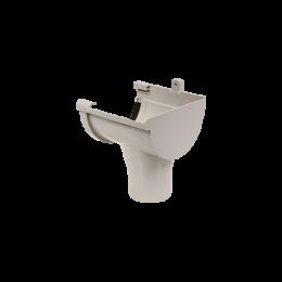Naissance droite PVC gris à joint 33