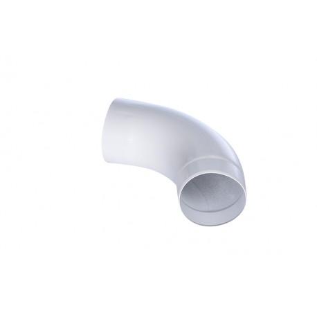 Coude 80 Aluminium Blanc 9010