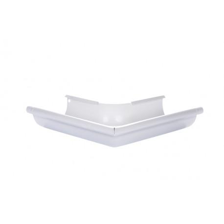 Angle extérieur 90 ° Aluminium 25 Blanc 9010