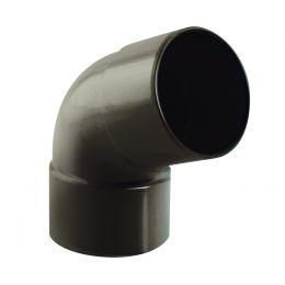 Coude PVC  67° M/F graphite 80