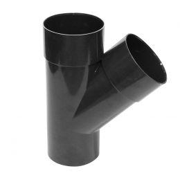 Culotte PVC 45° M/F graphite 80