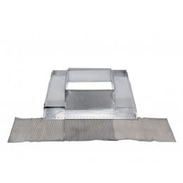 Abergement de cheminée réglable zinc bavette plomb ou rouge