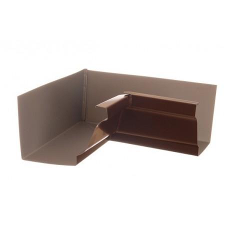 Angle Intérieur 90 ° Aluminium Marron  GOUTTIERE ONLINE