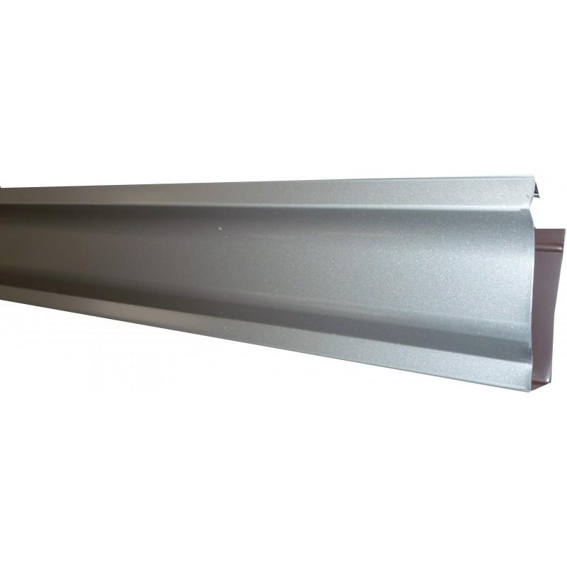 goutti re aluminium gris m tal 2 m tres gouttiere online. Black Bedroom Furniture Sets. Home Design Ideas