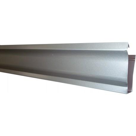 goutti re aluminium gris m tal 4 m tres gouttiere online. Black Bedroom Furniture Sets. Home Design Ideas