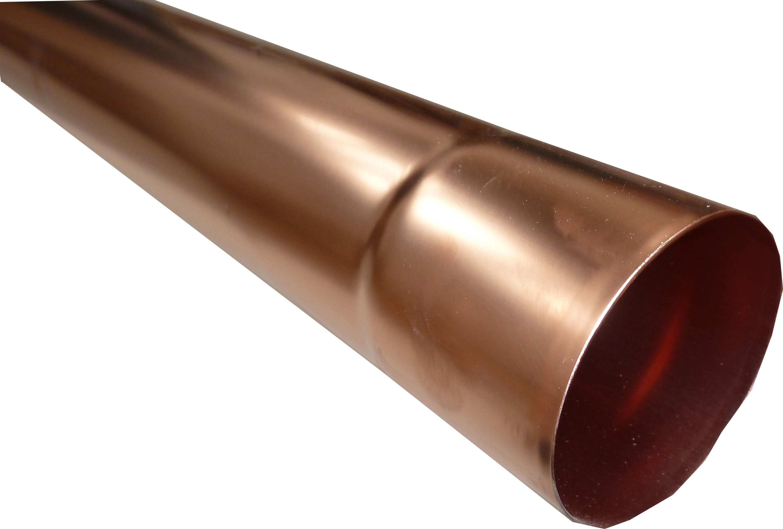 Tuyau Cuivre Cylindrique Diamètre 80 Mm Longueur 2 Mètres