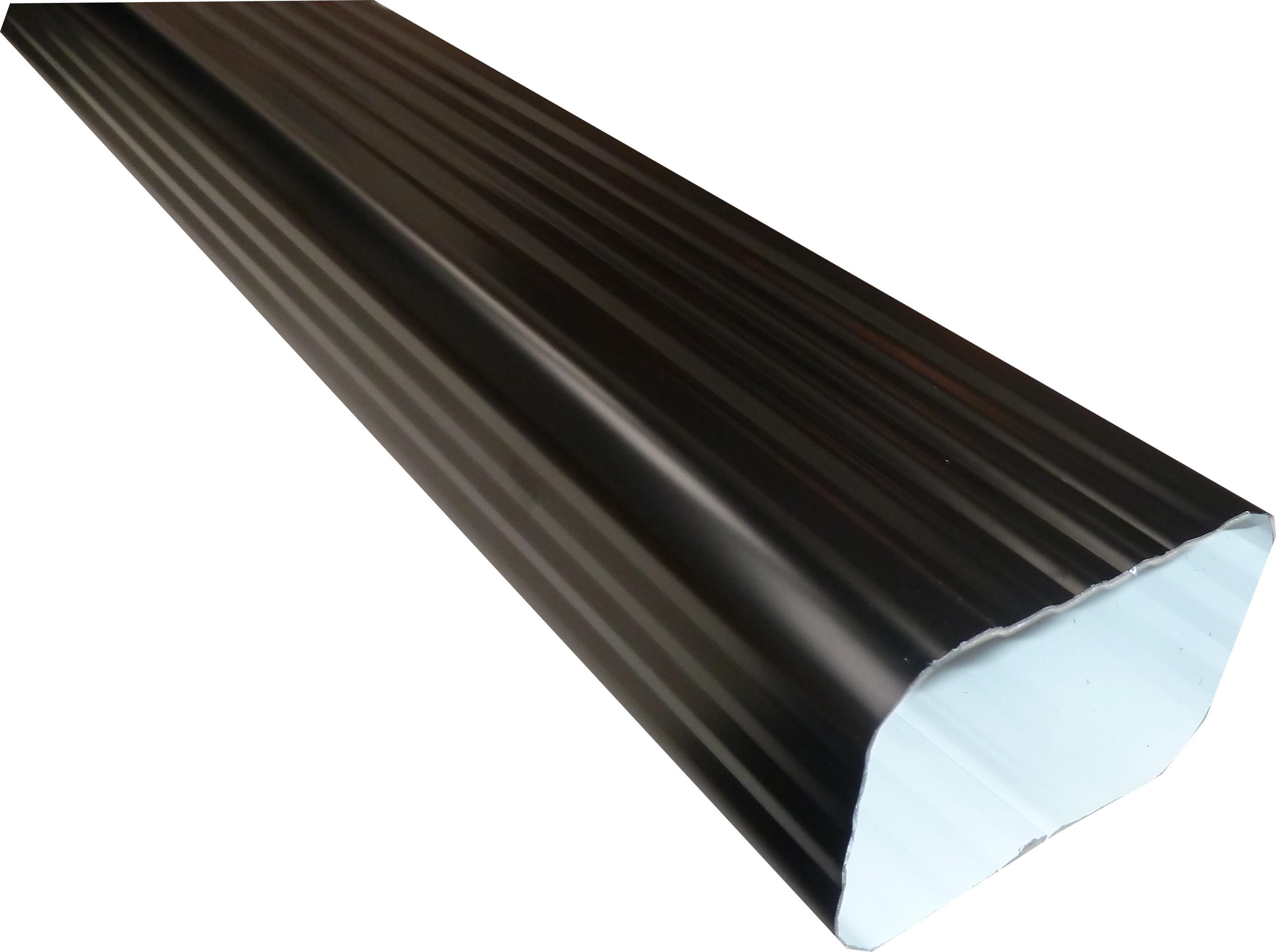 Gouttière Pvc En U tuyau de descente aluminium noir | gouttiere online