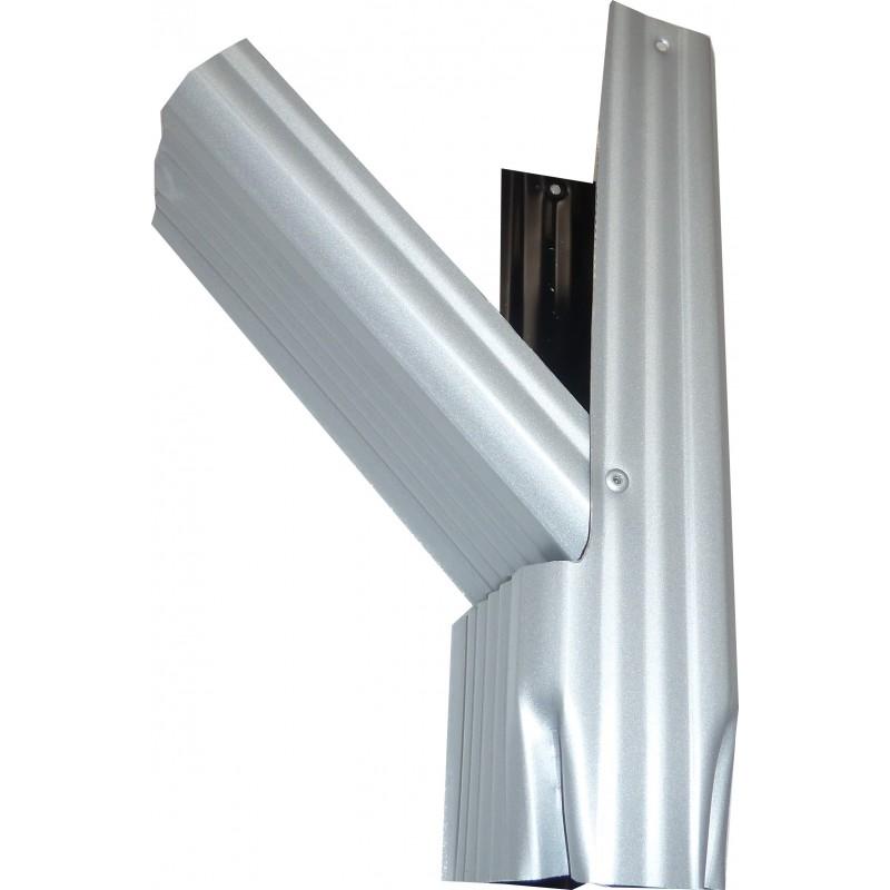 r cup rateur d 39 eau aluminium gris m tal gouttiere online. Black Bedroom Furniture Sets. Home Design Ideas