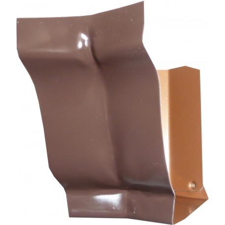 angle intérieur marron