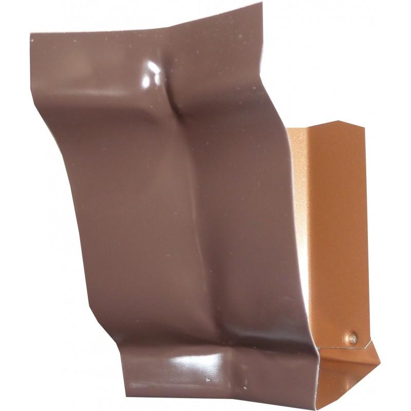 Angle int rieur 135 aluminium marron gouttiere online for Interieur online