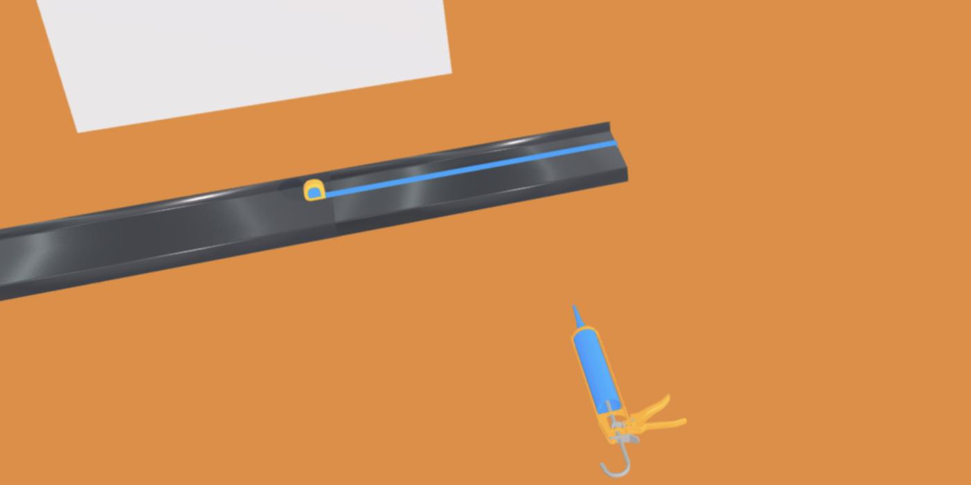 appuis de fen tre gris anthracite ral 7016 1 mm 2 m tres gouttiere online. Black Bedroom Furniture Sets. Home Design Ideas